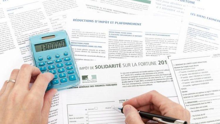 Avantages Fiscaux ISF impot sur la fortune