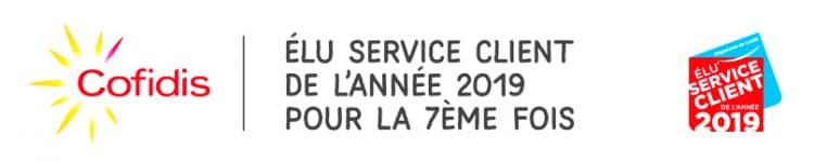 recompence 2019 service client cofidis