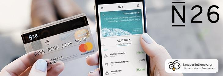 toutes les informations a savoir sur le compte courant n26 appartenant a la categorie des mobile