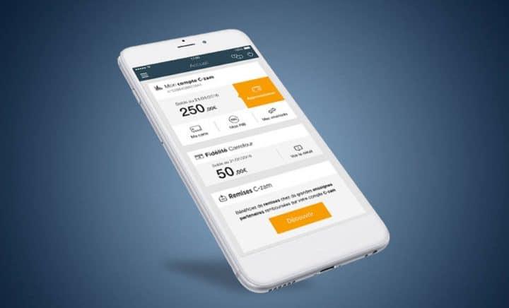 c zam portable compte mobile