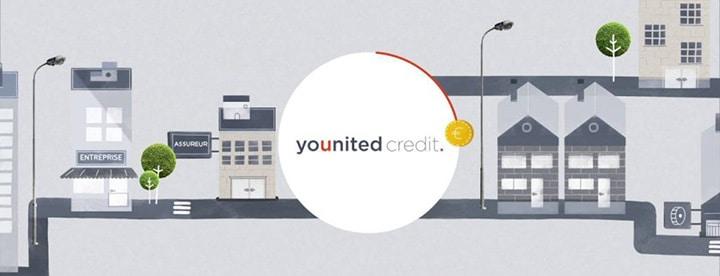 banniere avec logo younited credit