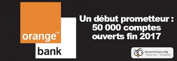 orange bank debut ouverture compte
