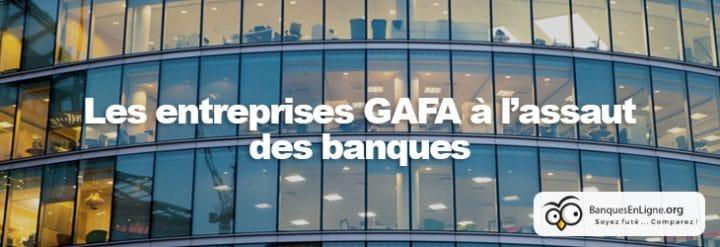 GAFA banque projet secteur bancaire