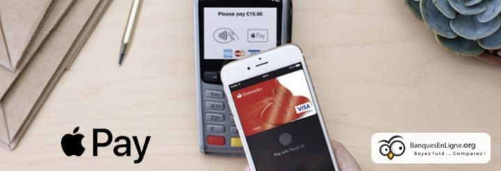 apple pay banques en ligne