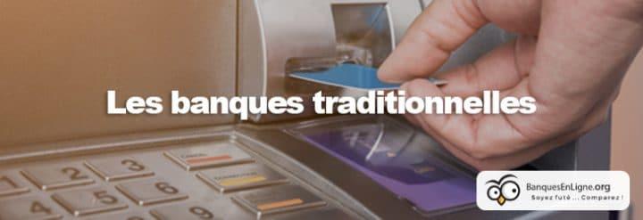 banques traditionnelles distributeur argent