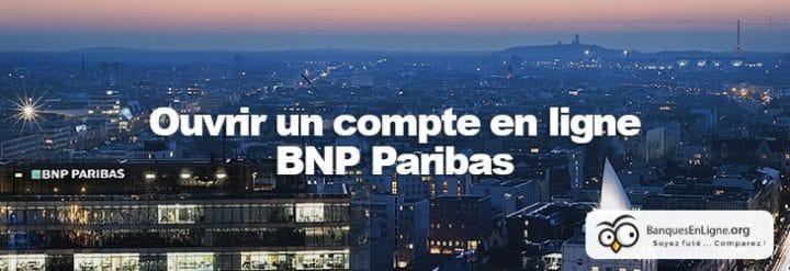 bnp paribas ouvrir compte banque en ligne