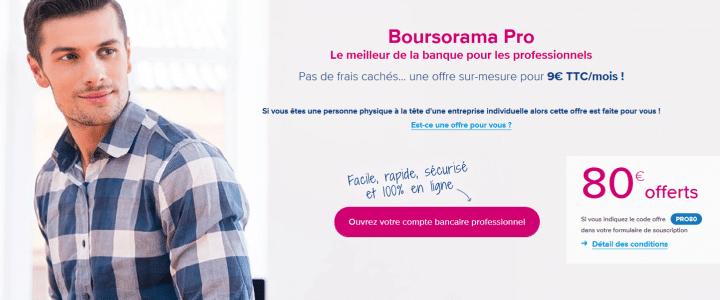 banniere offre boursorama pro