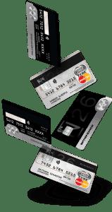 lot de cartes bancaires n26