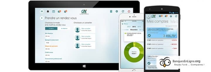 banque eko interface mobile ordinateur