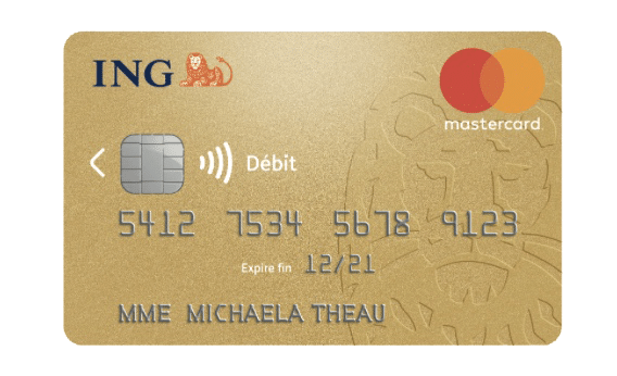 ing direct carte bancaire