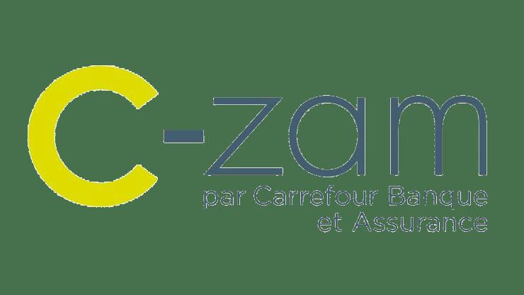 logo c-zam carrefour banque