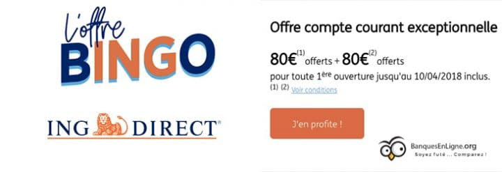 offre attrayante ing direct banque