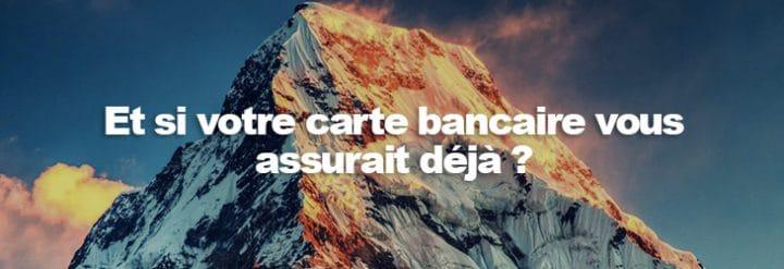 assurance ski carte bancaire