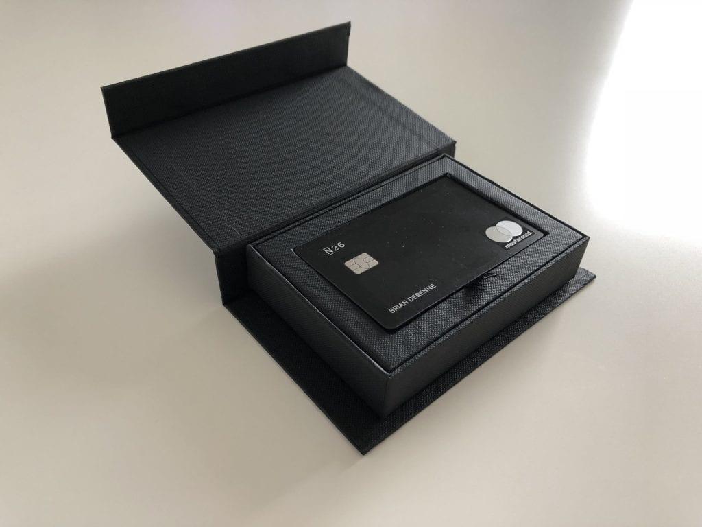 Carte N26 Metal.N26 Metal Le Compte Premium De N26 Est Il Fait Pour Vous