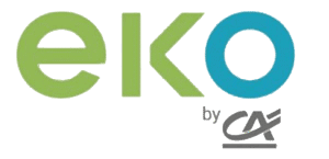 banque mobile eko by ca logo