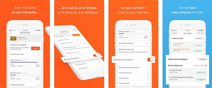 application mobile ING Direct