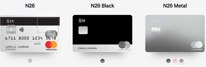 Carte N26 Belgique.N26 Avis 2019 La Meilleure Neobanque 0 Frais Mastercard Gratuite