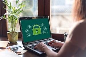 illustration sécurité sur un ordinateur
