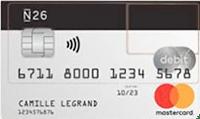 carte bancaire n26 classique
