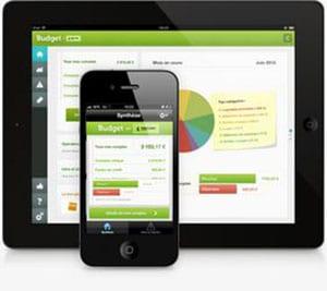 application fortuneo sur mobile et tablette