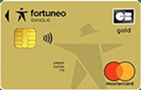 Carte gold mastercard Fortuneo
