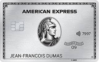 visuel carte american express platinum