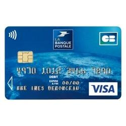 Carte Visa Classic La Poste | Carte De Paris