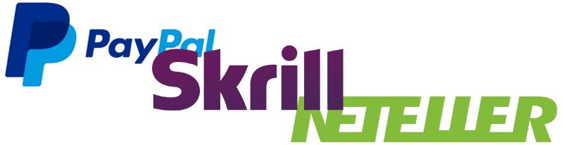 logo superposés paypal skrill neteller